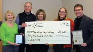 2015 02 21 - Trillium Funding Announcement (Cheque)