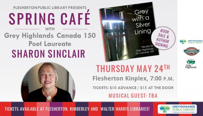 Spring Cafe 2018 with Sharon Sinclair